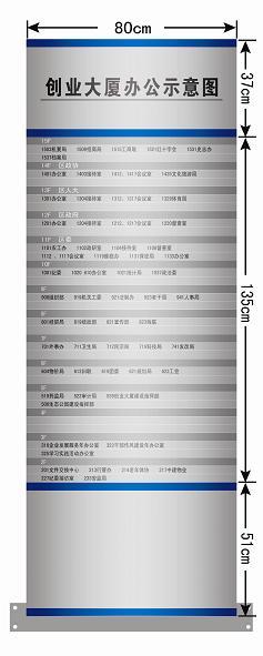 济南标牌厂引导牌